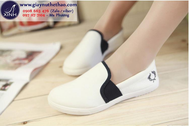 Giày lười đi bộ cực thoải mái êm chân GTT5202